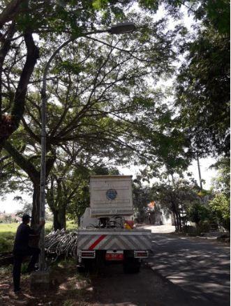 Perbaikan PJU di Jl. S.Parman Kutoarjo